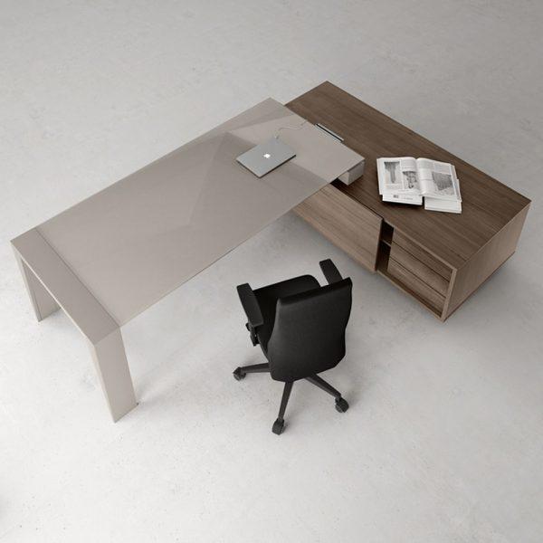 scrivania ufficio go steel