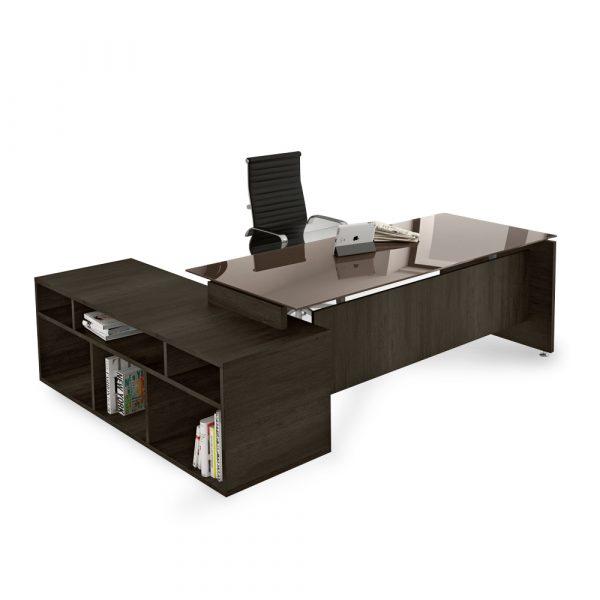 scrivania ufficio go vetro